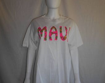 Closing Shop 40%off SALE Maui Hawaii neon t shirt tee