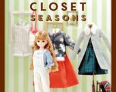 Doll's Closet Seasons - Japanese Craft Book