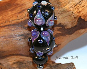 Lampwork  Art Beads by Jeanniesbeads #3059