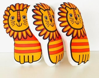 Handmade Toy Lion by Jane Foster