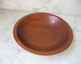 Wood Bowl (Honduran Mohagany)