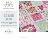 Sewing Pattern - Rag Quilt Instructions