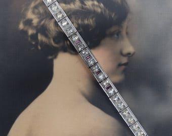 Antique Art Deco Linked Antique Bracelet ALLCO All Co