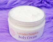 Pumpkin Pie and Lavender Cream, Lavender Pumpkin Lotion