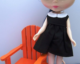 Playscale 1:6 Blythe Pullip Barbie YoSD Adirondack Chair in Orange Coral or Lemon