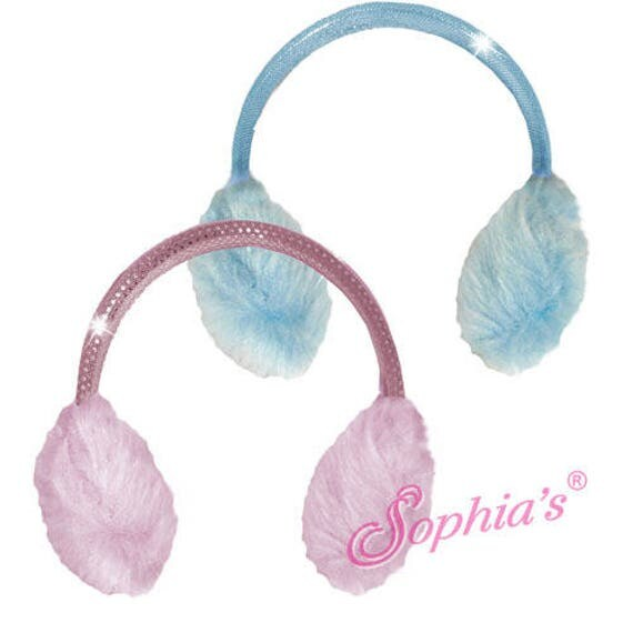 Fleece Earmuffs - 18 Inch Dolls