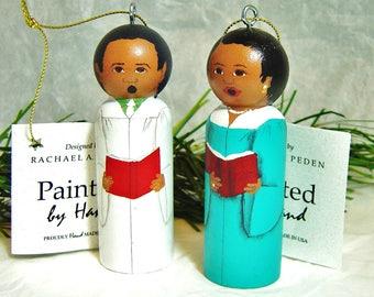 CHOIR Ornament , male or female, 3 robe color choices