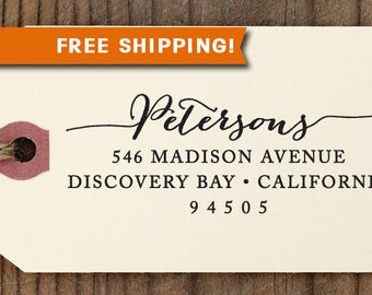 FREE SHIPPING custom address STAMP with proof from usa, Self-Inking stamp, return address stamp, holiday stamp, rsvp stamp, wedding stamp 79