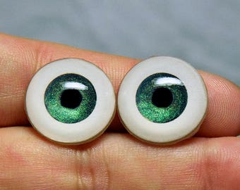 Doll eyes 18mm AD SM shifting color Teal