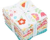 Lori Whitlock Bloom Where You're Planted Fat Quarter Bundle 18 FQs Precut Cotton Fabric Quilting Riley Blake FQ-6850-18