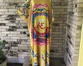 Plus Size Premium Rayon Caftan Ohm Design