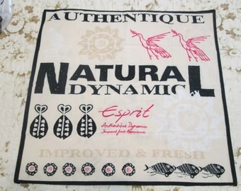 Vintage Esprit Scarf with Cool Primitive Tribal Graphics