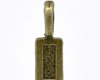 30% Retirement Closeout - Bail, Glue On, 20mm, Antique Brass, 5BA00-0002