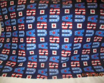 USA Patriotic Pillowcase