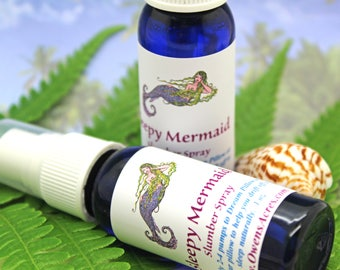 Sleep Mermaid Aromatherapy Slumber Spray, for Sleep - Dream Pillows, Linen Spray, Sleep Help, Relaxing, Stress, Sleepy, Good Nights Sleep