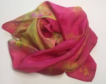 Shine Silk Scarf or Playsilk, 21x21 inch