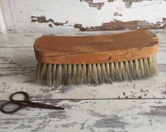 Vintage Horsehair Brush - Nelco Large Soft Shoe Brush