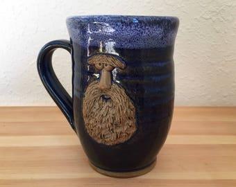 Mustache Monster - The Full Beard - 15 oz Mug