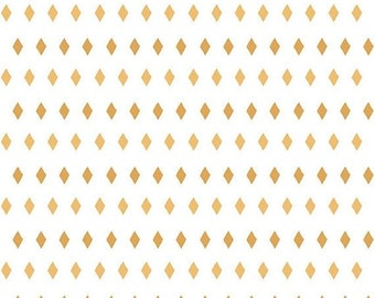 EXTRA20 20% OFF Penny Rose Fabrics Five & Dime - Diamonds Yellow