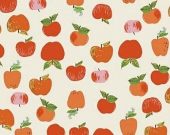 SALE Heather Ross Kinder Apples Red