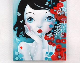 Acrylic painting: Yume