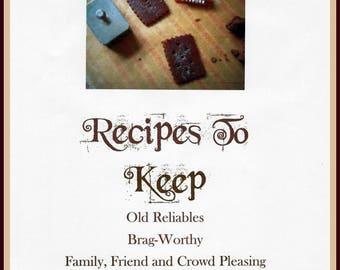 Recipes to Keep