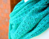 Garden Path Scarf PDF pattern for rigid heddle loom digital download