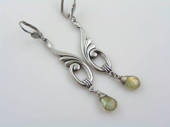Chandelier Earrings Beaded Earrings Beaded Jewelry