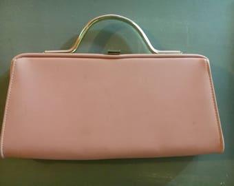 Vintage convertible handbag - pink and ladylike