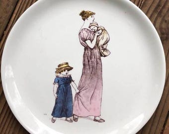 Almanack Kate Greenaway July Plate