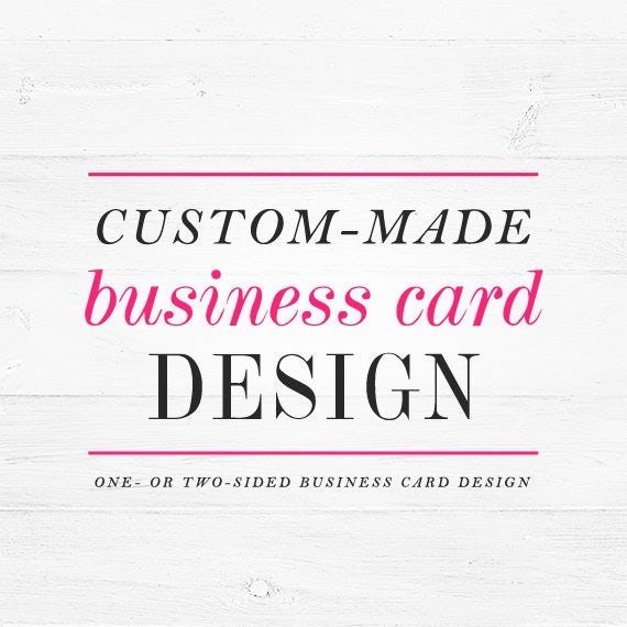 Business card design - custom business card ooak calling card personalized winchesterlambourne winchester lambourne