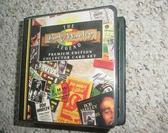 The Bob Marley Legend premium edition collector card set 1995