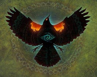 REDWING BLACKSONG ※ Summer Water Bird Petroglyphs Marsh Ancient Sun Fire Wings Beautiful Song Native Oregon