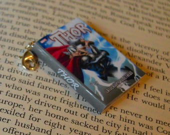Thor - Zipper Charm - Purse Charm - Keychain - Free Shipping