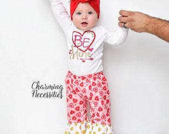 be mine baby girl valentines day outfit toddler girl valentines day outfit 1st valentines day my - Valentines Baby Outfit