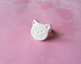 Cat ring ♥ ♥♥♥♥ white ♥