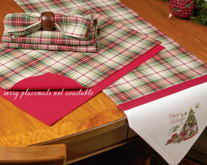 Featured listing image: Happy Holidays Table Runner