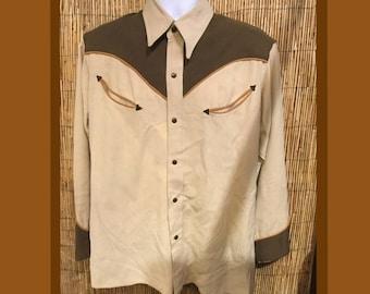Vintage 1940s western shirt