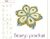 pendant tutorial / pattern Brange pendant – PDF instruction for personal use only
