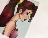 Meg - Megara from Hercules Postcard