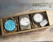Custom Gift Boxes - Care Package - Friendship Gift - Bath Bomb Gift Set - Spa Gift Set - Custom Gift Basket - Mom Gift - Spa Set - Self Care