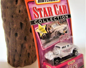 Matchbox Star GREASE Greased Lightning Car Truck Diecast 1997 Gift 1970s Rare Race Series 1 Movie '33 Willys Special Edition Cake Top