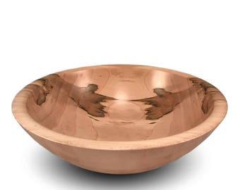Handmade Wood Bowl - Maple Wood Bowl - The Simpleton