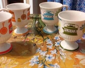 4 pedestal japan greenwich mugs
