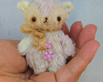 Sherry the Bear by Woollybuttbears - ready to ship