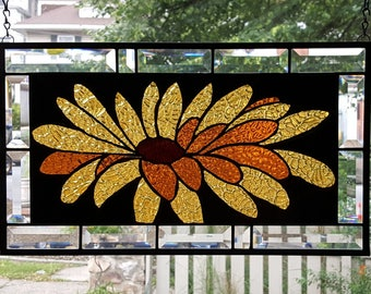 Amber Stained Glass Etsy