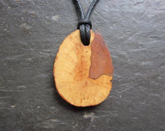 Rare Natural Wood Pendant - Root of Apple - for Strong Fertility Magic.