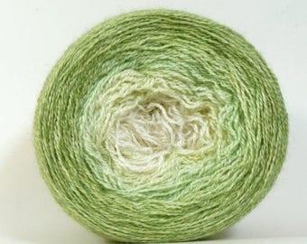 BIG SUMMER SALE Mirth Alpaca/Silk Lace Gradient Shawl Maki - Dogwood