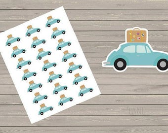 Vacation Planner Stickers Road Trip Stickers Trip Planner Stickers Summer Stickers Vacation Planning Stickers Fits Most Planners Stickers