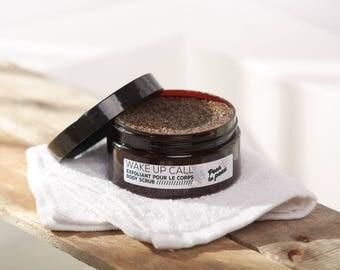 WAKE UP CALL // Vegan coffee Body scrub // Exfoliant naturel pour le corps au café